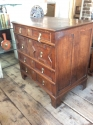 James II Oak Chest of Drawers - picture 4