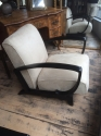 Pair of French Art Deco Open Armchairs - picture 3