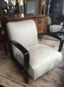 Pair of French Art Deco Open Armchairs - picture 5