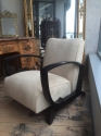 Pair of French Art Deco Open Armchairs - picture 6
