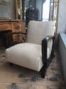 Pair of French Art Deco Open Armchairs - picture 7
