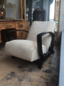 Pair of French Art Deco Open Armchairs - picture 8