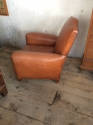 Moustache back Leather club Chair - picture 4