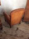 Small Leather club chair - picture 3