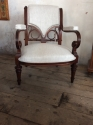 Unusual French open armchair - picture 1