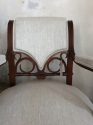 Unusual French open armchair - picture 2