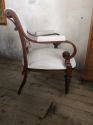 Unusual French open armchair - picture 3