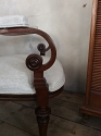 Unusual French open armchair - picture 4