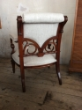 Unusual French open armchair - picture 5