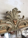French gilt wood overmantle mirror c1870 - picture 2