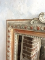 French gilt wood overmantle mirror c1870 - picture 3