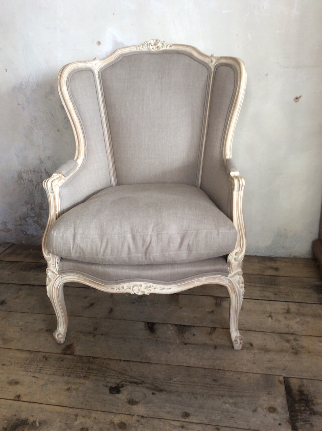 French upholstered Fauteuil