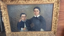 19th Century Portrait of mother & son - picture 2