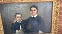 19th Century Portrait of mother & son - picture 3