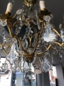 French Pampilles chandelier - picture 2