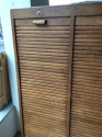 Vintage French Tambour Cabinet - picture 2