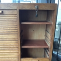 Vintage French Tambour Cabinet - picture 3