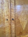 Biedermeier Karelian Birchwood Cabinet - picture 2
