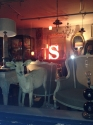 French Vinage Letter S - Pink Neon - picture 7