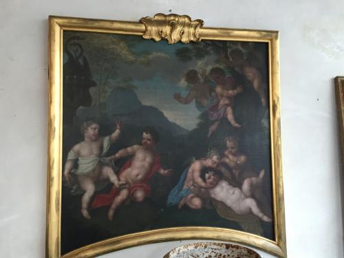 18th century Cherub painting