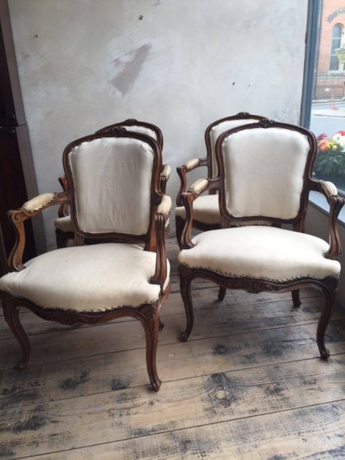Set of Four Regency DIning Chairs