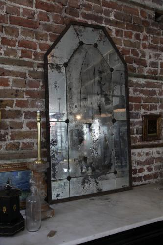 Large Mirror attributed to Edgar Brandt 1920s