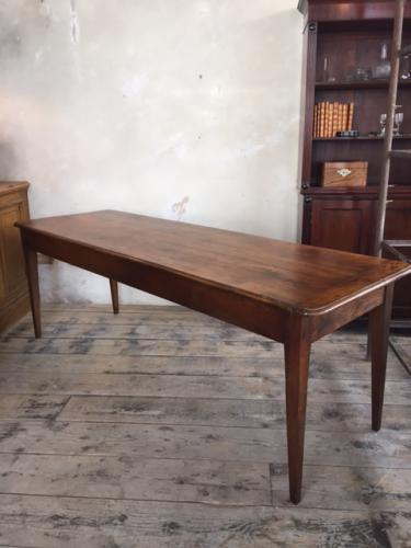 French Oak Farmhouse Table c1830