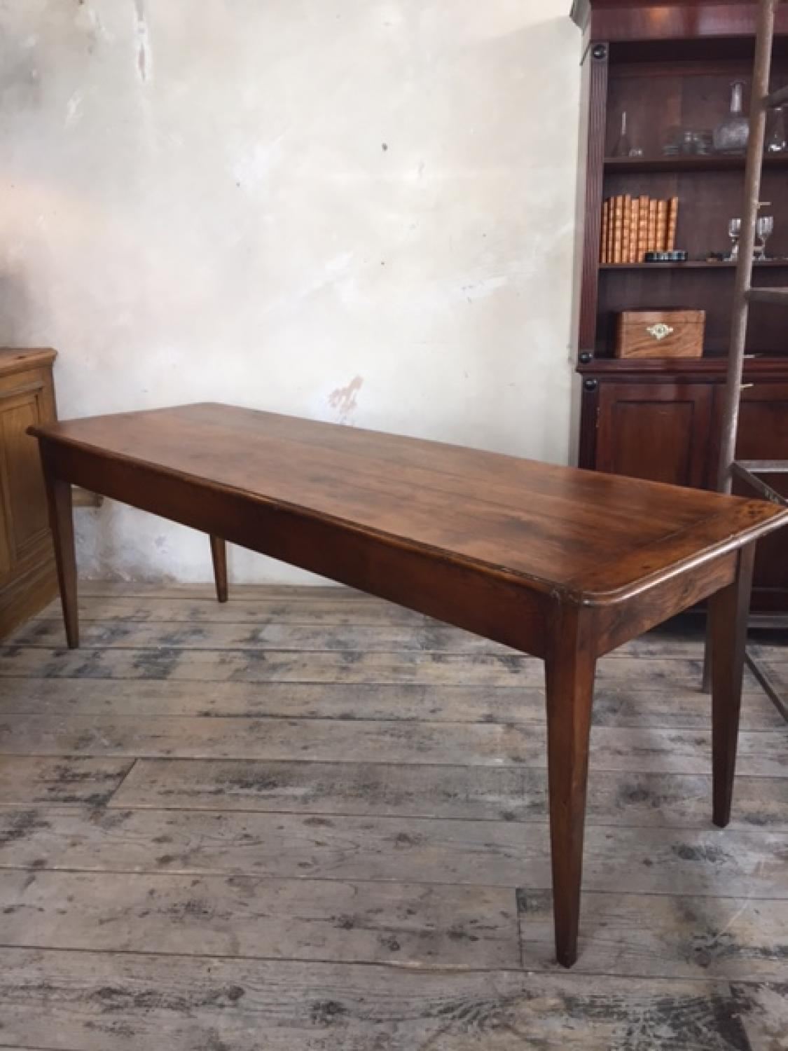 French Oak Farmhouse Table c1830