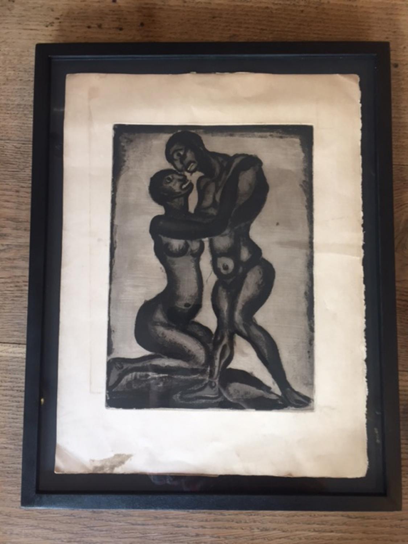 Georges Roualt Etching  c1918