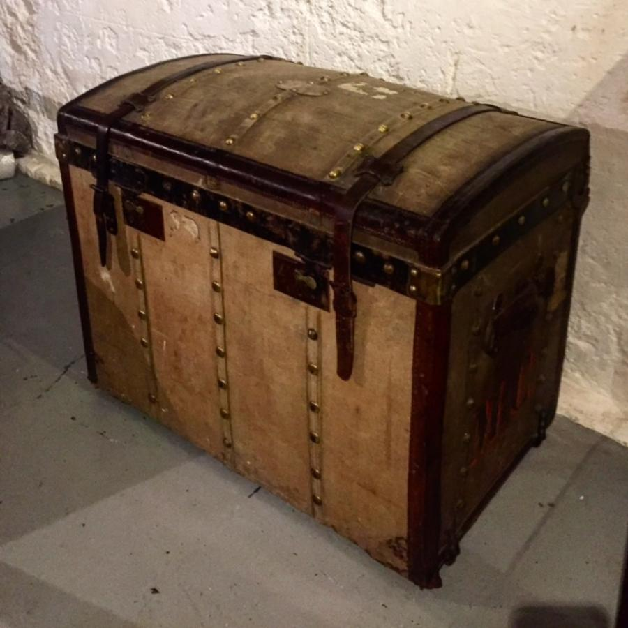 Large Moynat Trunk