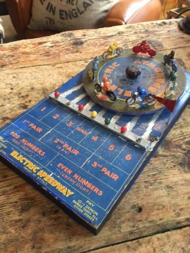 1950's Electric Speedway Game