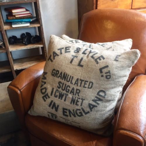 Tate & Lyle Sugar Sack Cushions