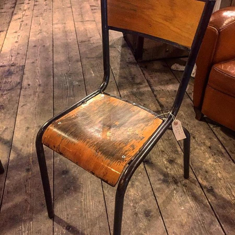 French Stacking Chairs