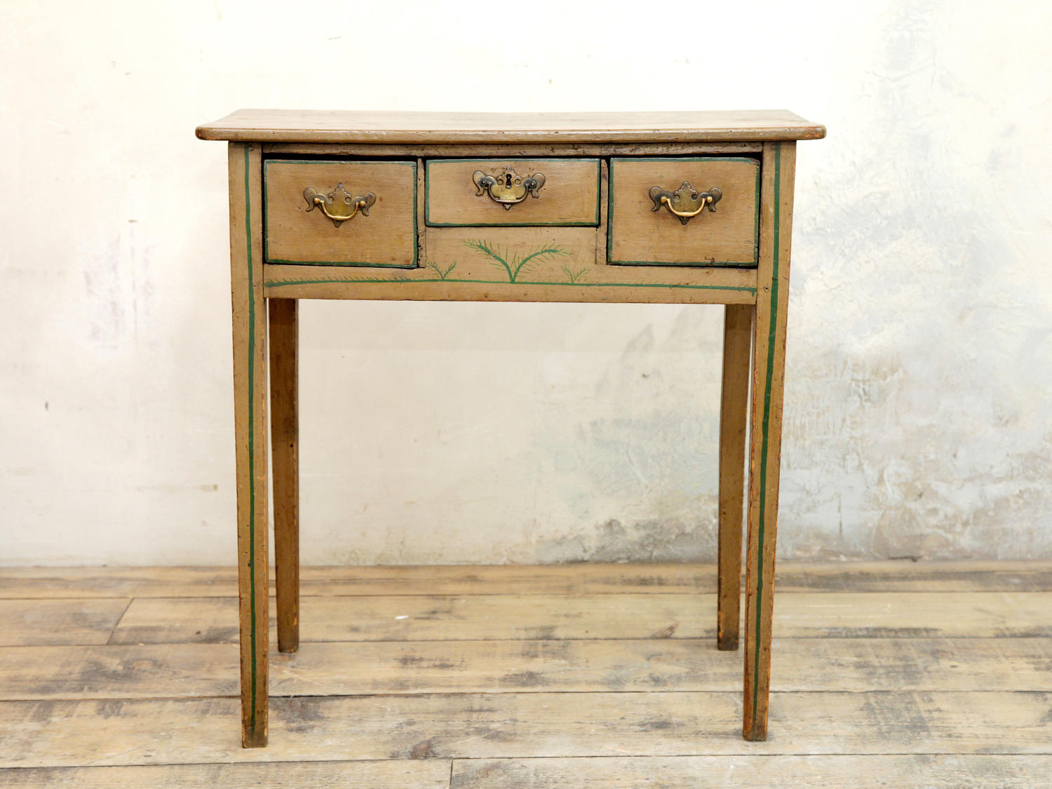 George III painted side table