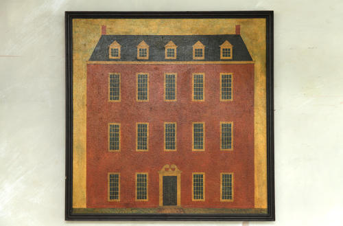 Primitive Painting of Country House