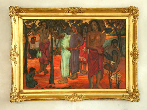 Oil on canvas after Paul Gauguin