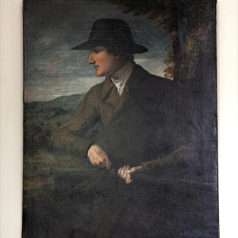18th century Oil Painting of Hunter