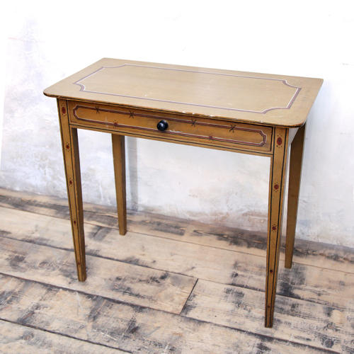 A George III painted side table C1800